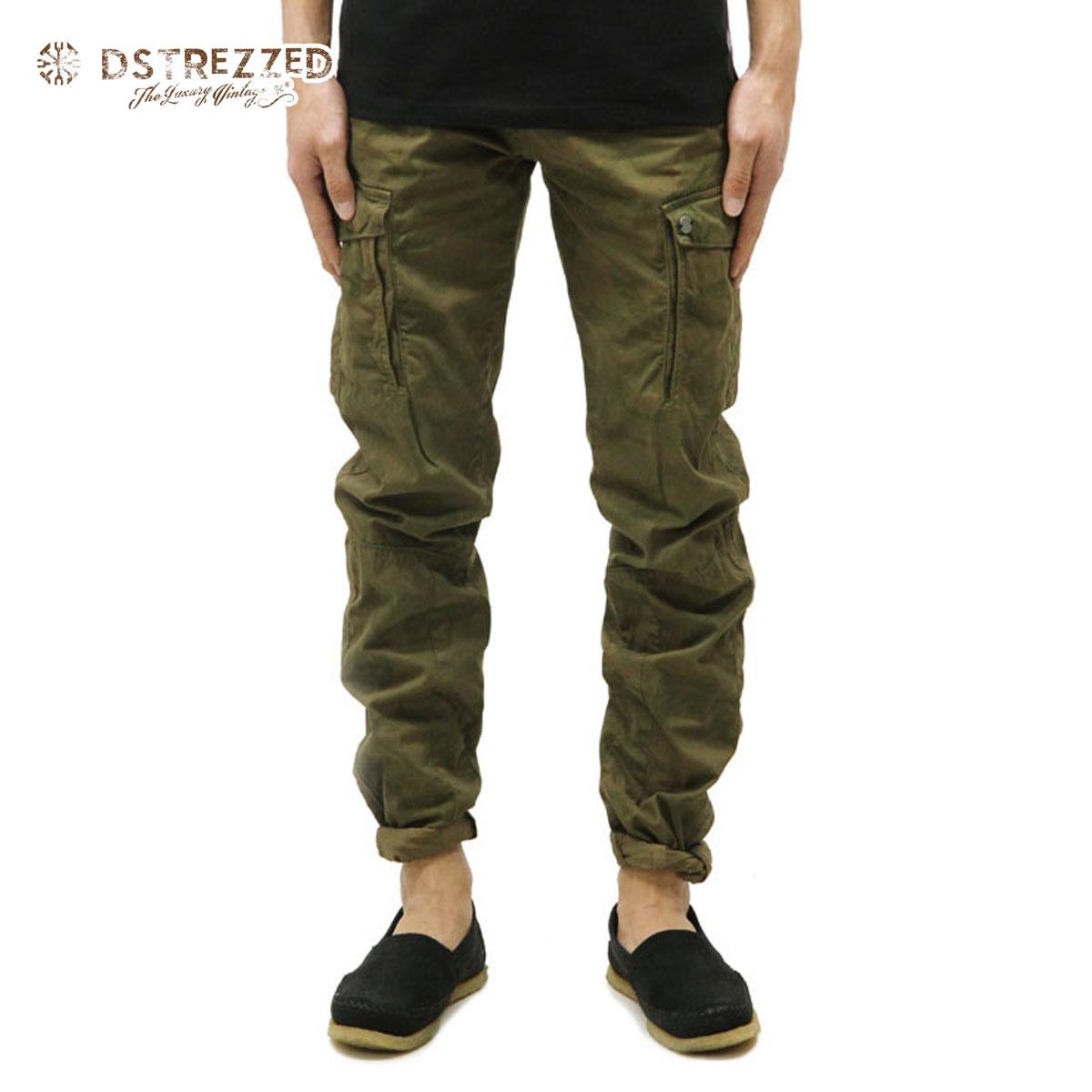 ディストレス DSTREZZED 正規販売店 メンズ カーゴパンツ FANCY CARGO PANTS SADDLE BROWN 501162 112 D00S15
