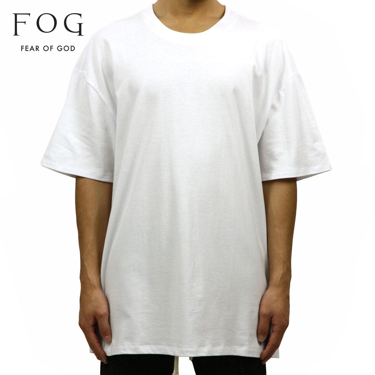フィアオブゴッド FEAR OF GOD 正規品 メンズ クルーネック 無地 半袖Tシャツ FOG - FEAR OF GOD ESSENTIALS BOXY T-SHIRT WHITE