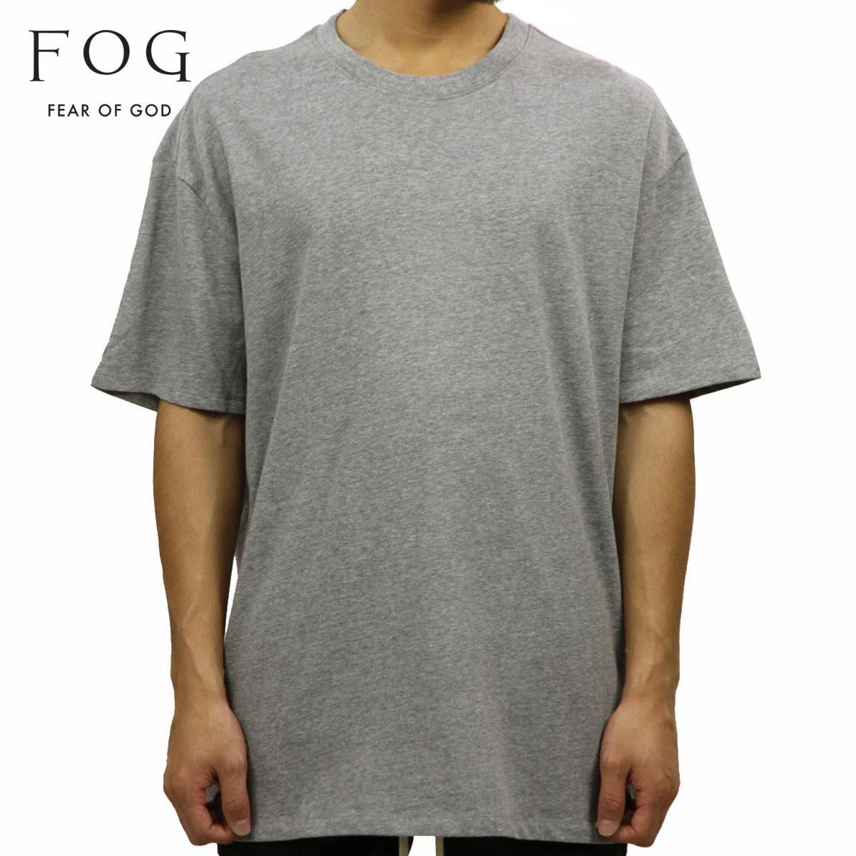 フィアオブゴッド FEAR OF GOD 正規品 メンズ クルーネック 無地 半袖Tシャツ FOG - FEAR OF GOD ESSENTIALS BOXY T-SHIRT GRAY