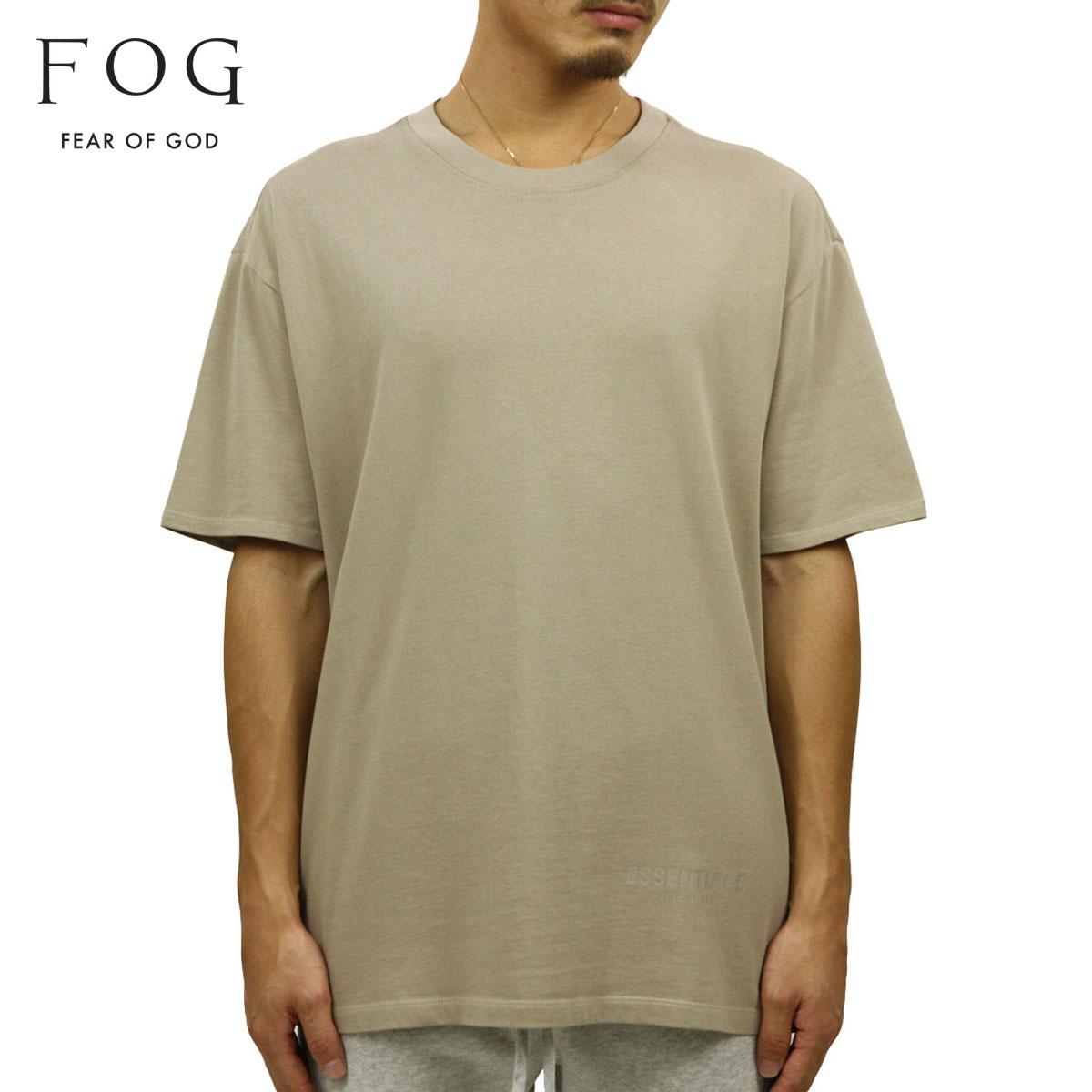 フィアオブゴッド Tシャツ 正規品 FEAR OF GOD 半袖Tシャツ クルーネック FOG - FEAR OF GOD ESSENTIALS BOXY T-SHIRT TAN