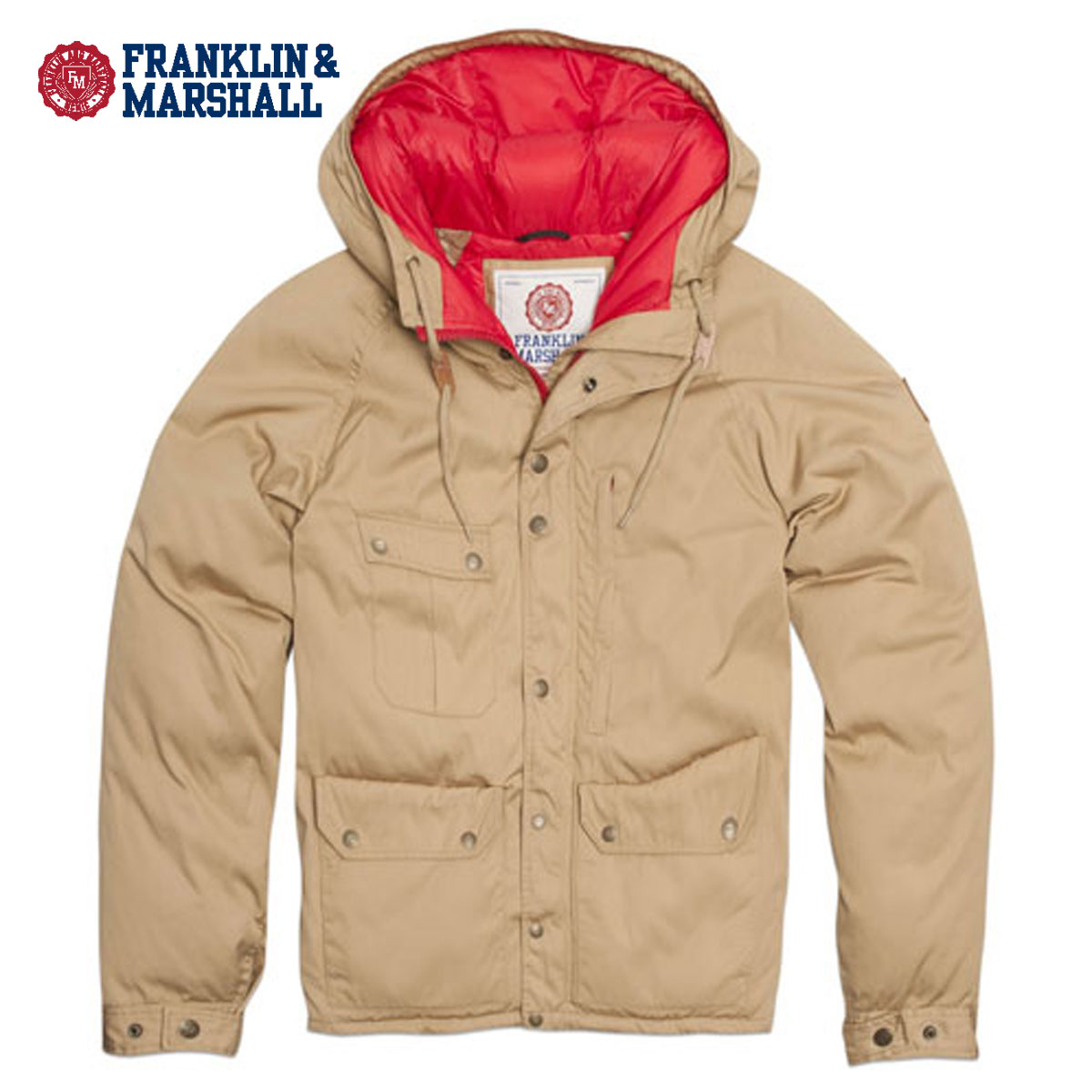 フランクリン マーシャル FRANKLIN&MARSHALL 正規販売店 メンズ ジャケット MOUNTAIN JACKET JKMR113 BEIGE D15S25