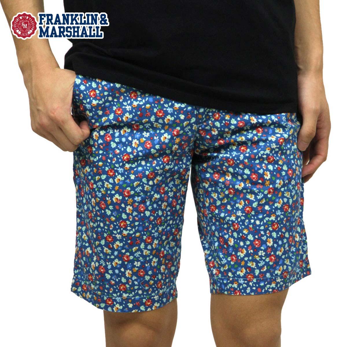 【販売期間 4/2 10:00~4/8 09:59】 フランクリン マーシャル FRANKLIN&MARSHALL 正規販売店 メンズ ショートパンツ SHORT PANTS PAMAL472 D15S25
