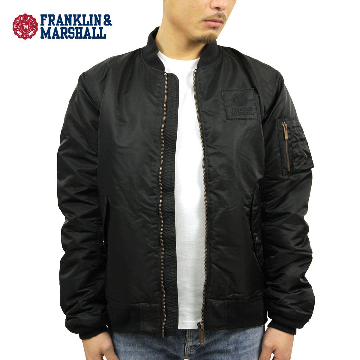 フランクリン マーシャル FRANKLIN&MARSHALL 正規販売店 メンズ ジャケット MA-1 BLACK JKMAL028AN 5021 D00S20