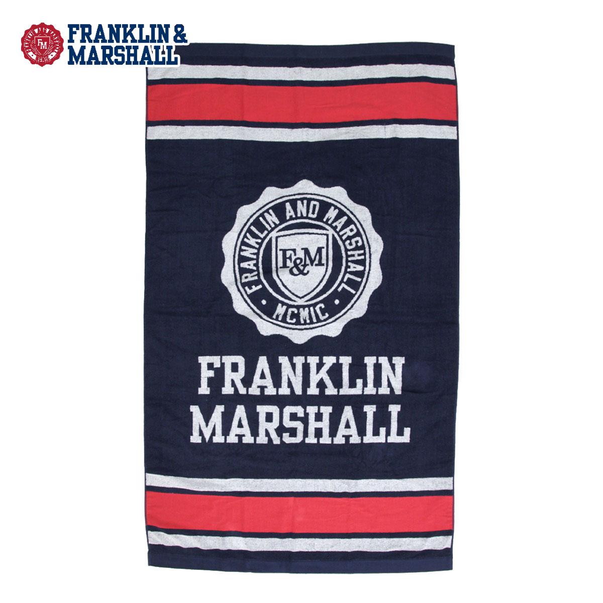 フランクリン マーシャル FRANKLIN&MARSHALL 正規販売店 タオル BEACH TOWEL NAVY BTUA940 7021 0167