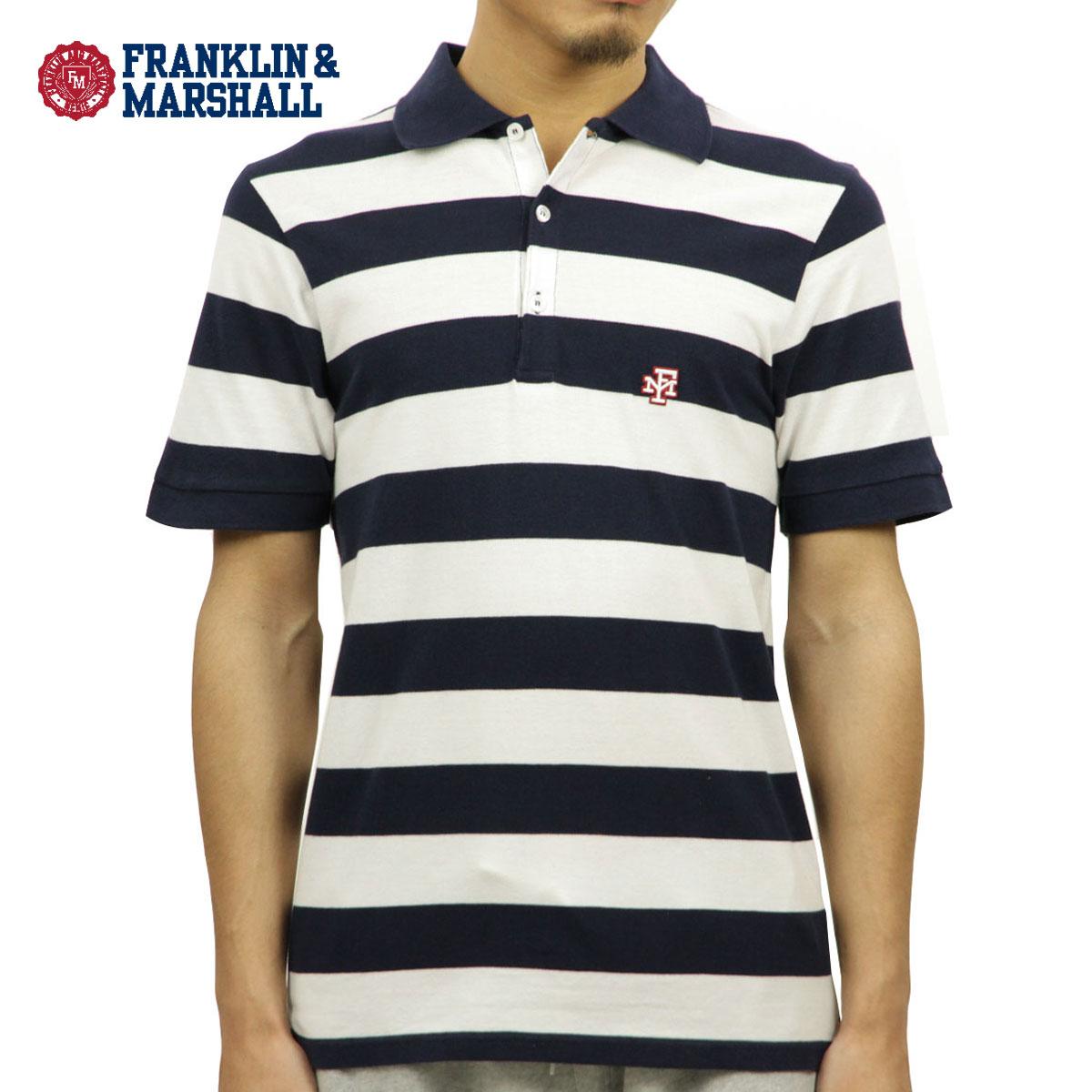 c50957314fc Franklin Marshal FRANKLIN & MARSHALL regular store men stripe short  sleeves polo shirt STRIPE POLO ...