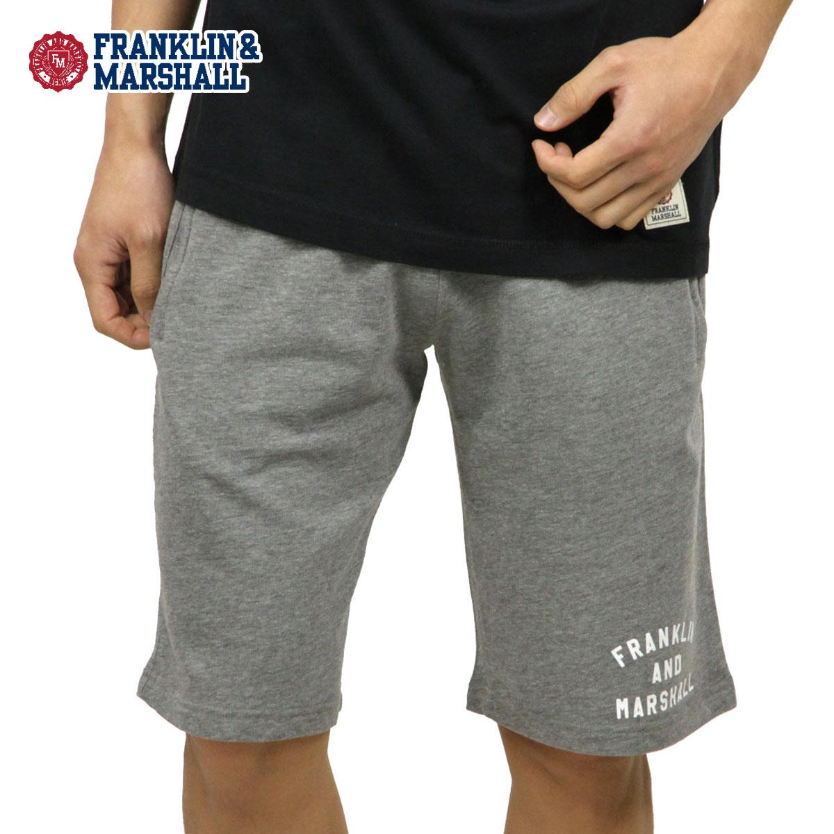 フランクリン マーシャル FRANKLIN&MARSHALL 正規販売店 メンズ ハーフパンツ FLEECE PANTS MEDIUM GREY MELANGE SFMF217AN 2197