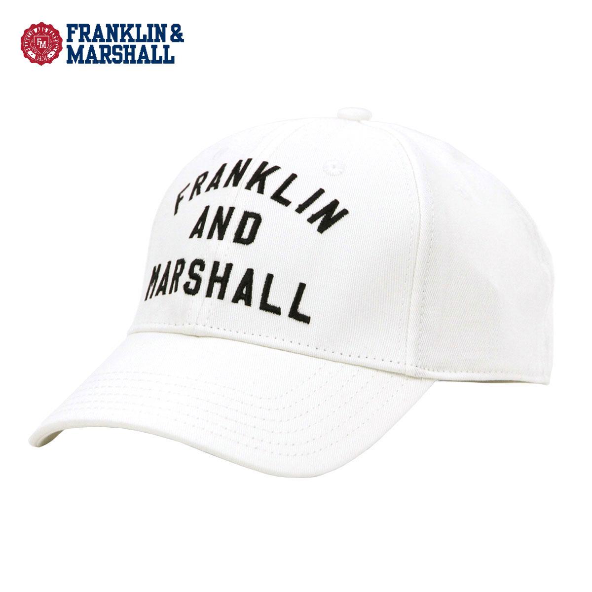 6aa98f5ae0d39 Franklin Marshal FRANKLIN   MARSHALL regular store men cap SIX PANEL CAP  MILK CPUA906 244