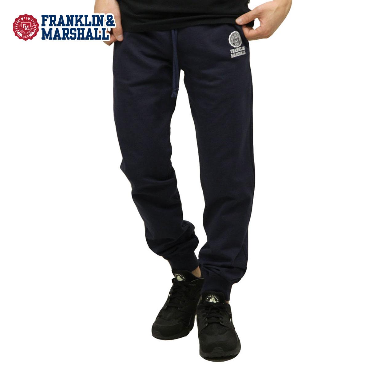 予約商品 4月頃入荷予定 フランクリン マーシャル FRANKLIN&MARSHALL 正規販売店 メンズ ジョガーパンツ JOGGER FLEECE PANTS PFMF081 2033 NAVY