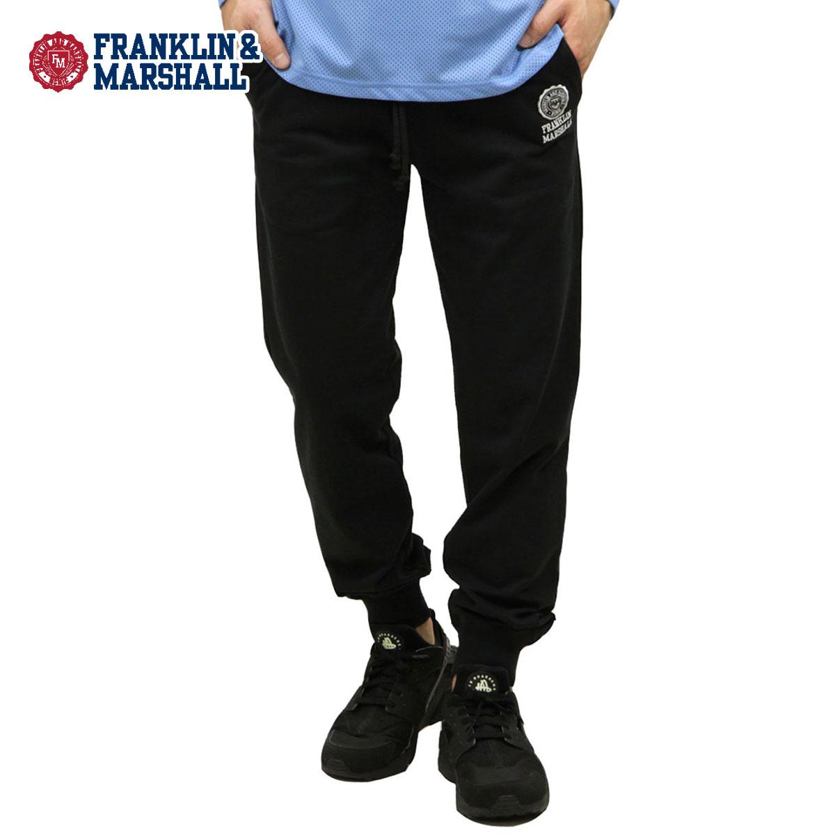 予約商品 4月頃入荷予定 フランクリン マーシャル FRANKLIN&MARSHALL 正規販売店 メンズ ジョガーパンツ JOGGER FLEECE PANTS PFMF081 2033 BLACK