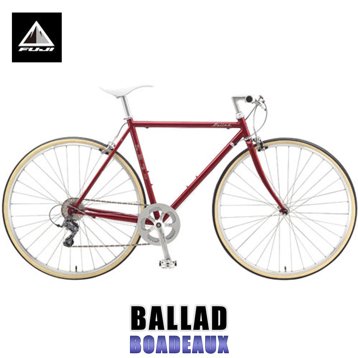【タイムセール!】 フジ FUJI FUJI 正規販売店 自転車 BIKE) BALLAD (CROSS 自転車 BIKE) BOADEAUX, ストール専門店Neckふぁっしょん:2ce090b6 --- agrohub.redlab.site