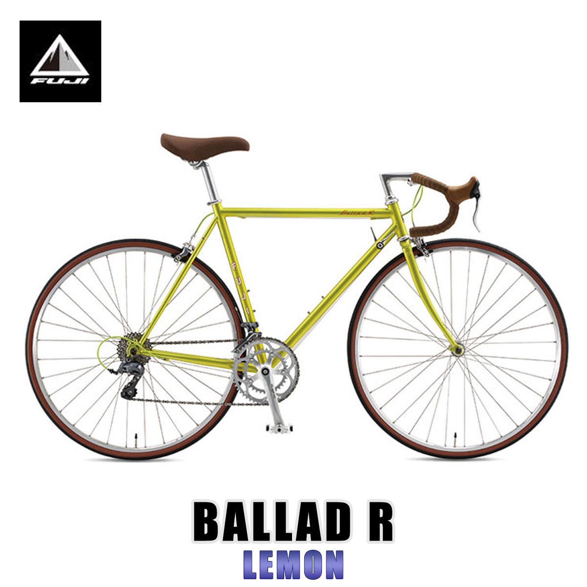 【ポイント10倍 12/4 20:00~12/11 01:59まで】 フジ FUJI 正規販売店 自転車 BALLAD R LEMON