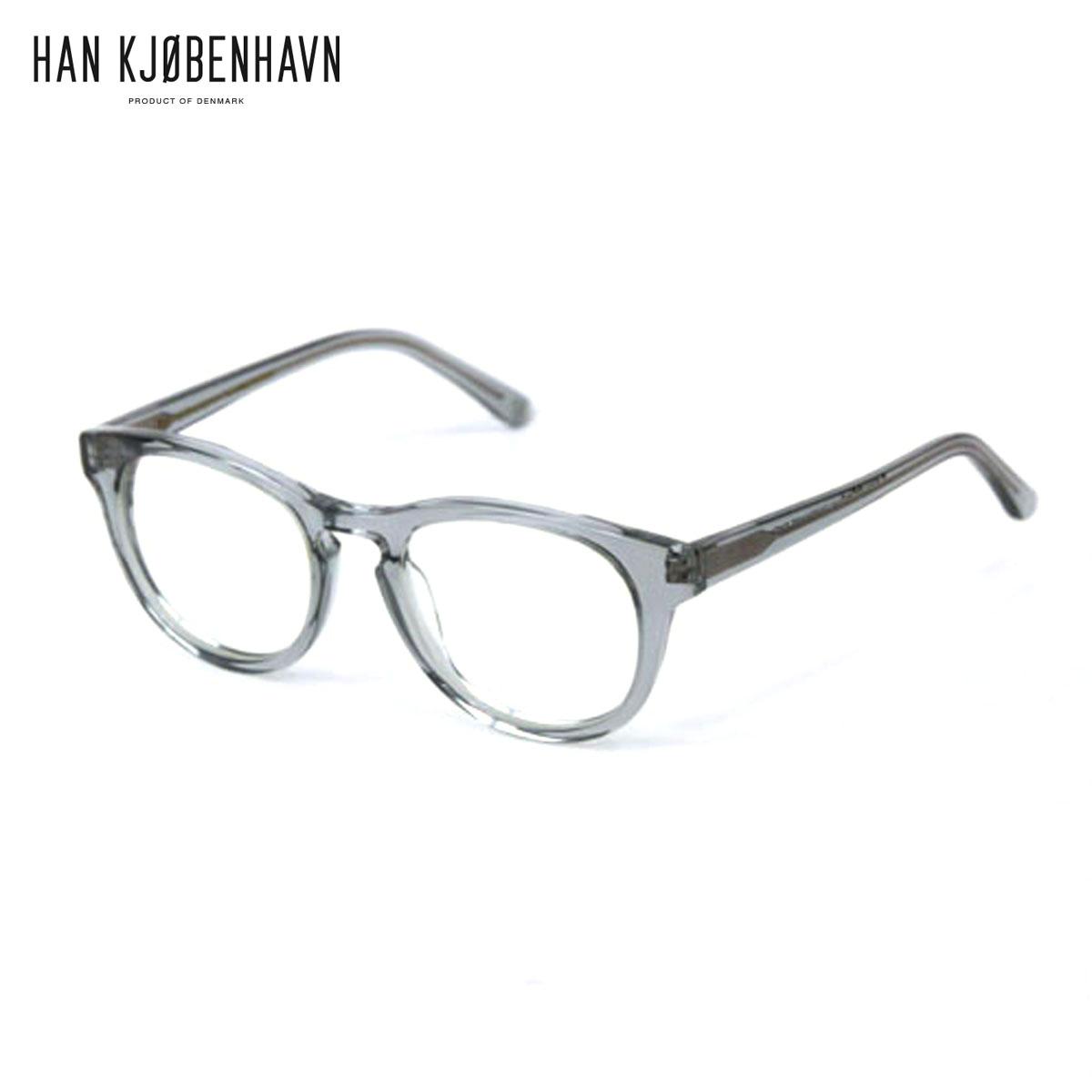 ハン HAN KJOBENHAVN 正規販売店 サングラス TIMELESS Transparent Grey - CLEAR D15S25