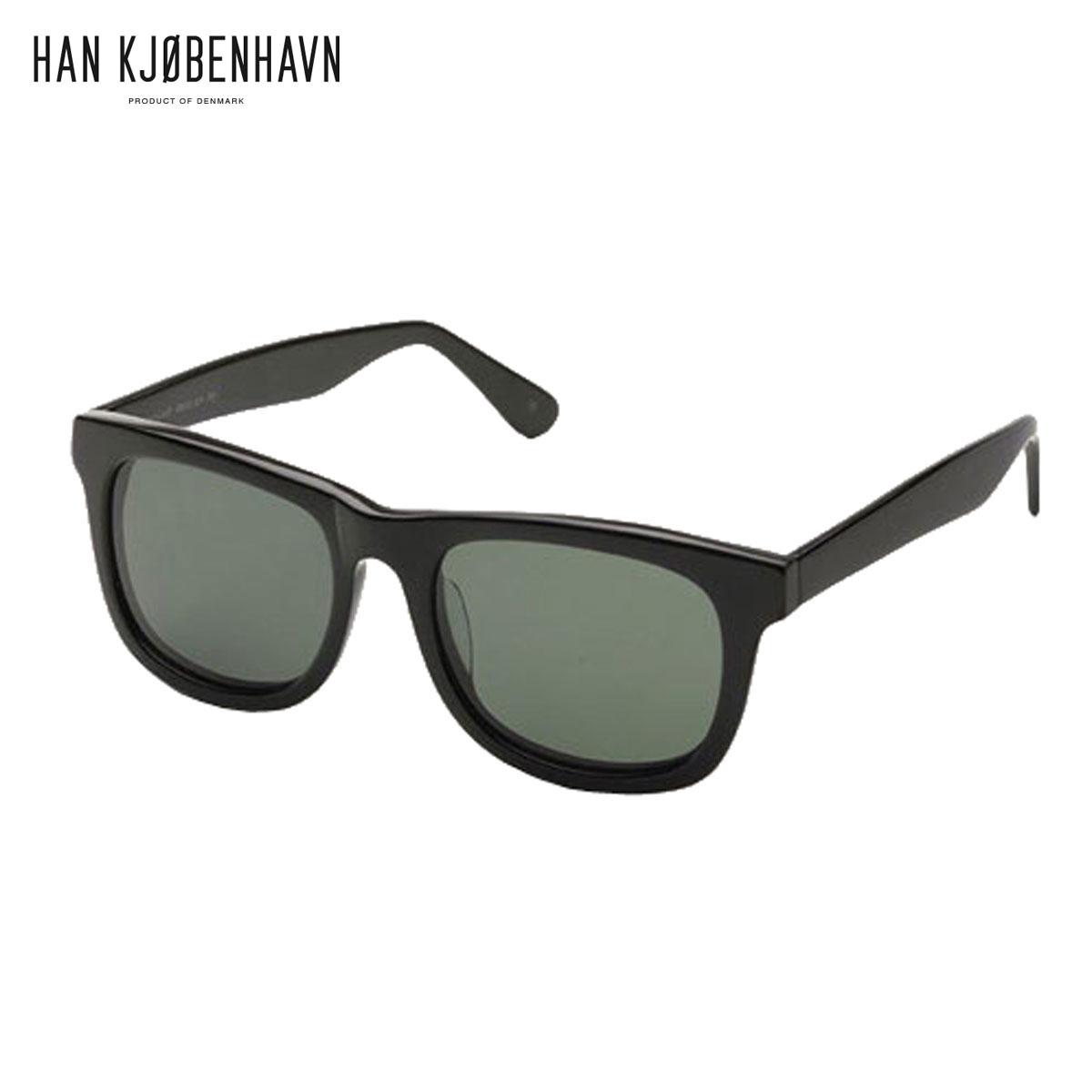 【販売期間 4/2 10:00~4/8 09:59】 ハン HAN KJOBENHAVN 正規販売店 メンズ サングラス めがね WOLFGANG Black SUN D15S25