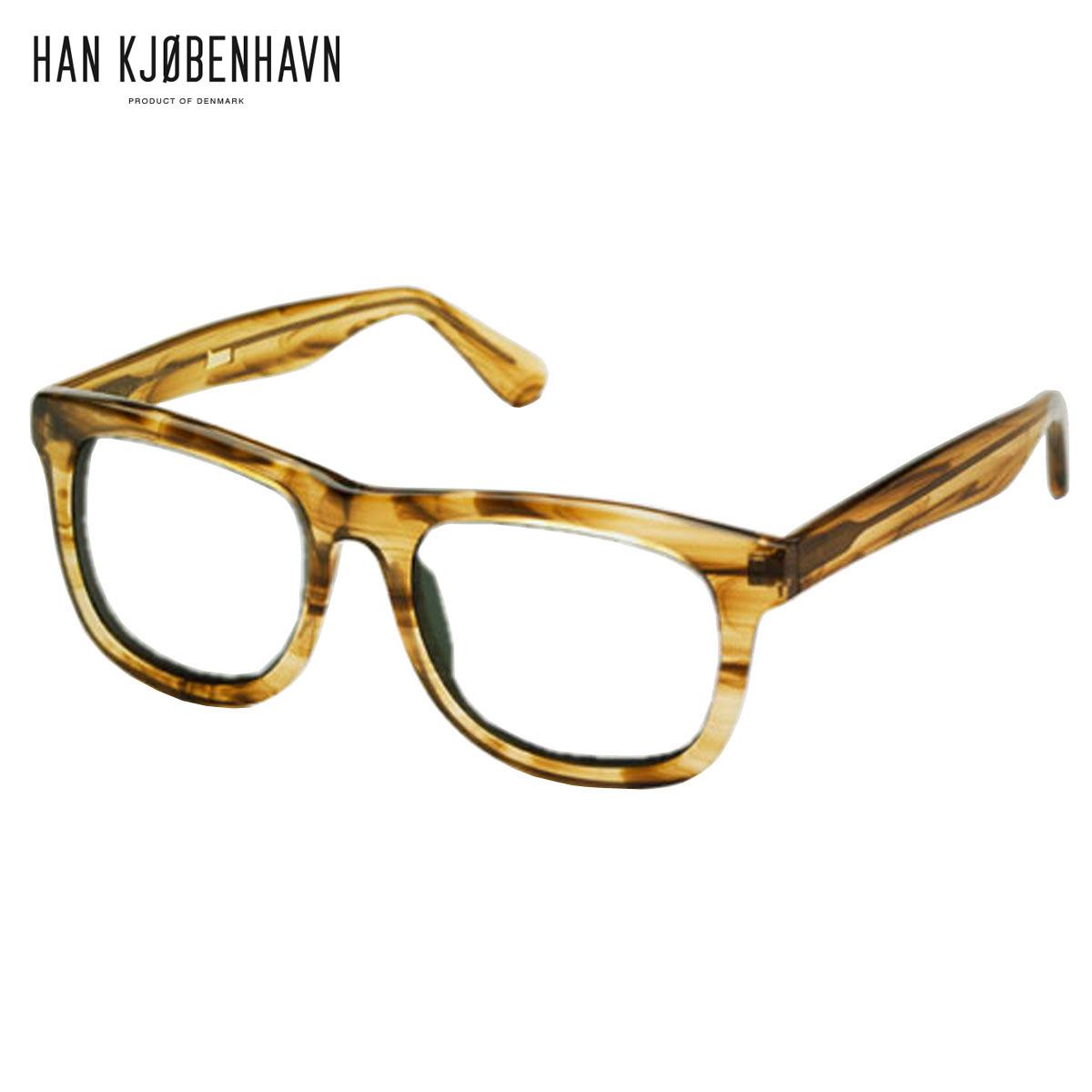 【ポイント10倍 6/4 20:00~6/11 01:59まで】 ハン HAN KJOBENHAVN 正規販売店 メンズ サングラス めがね WOLFGANG Horn - CLEAR D15S25 父の日