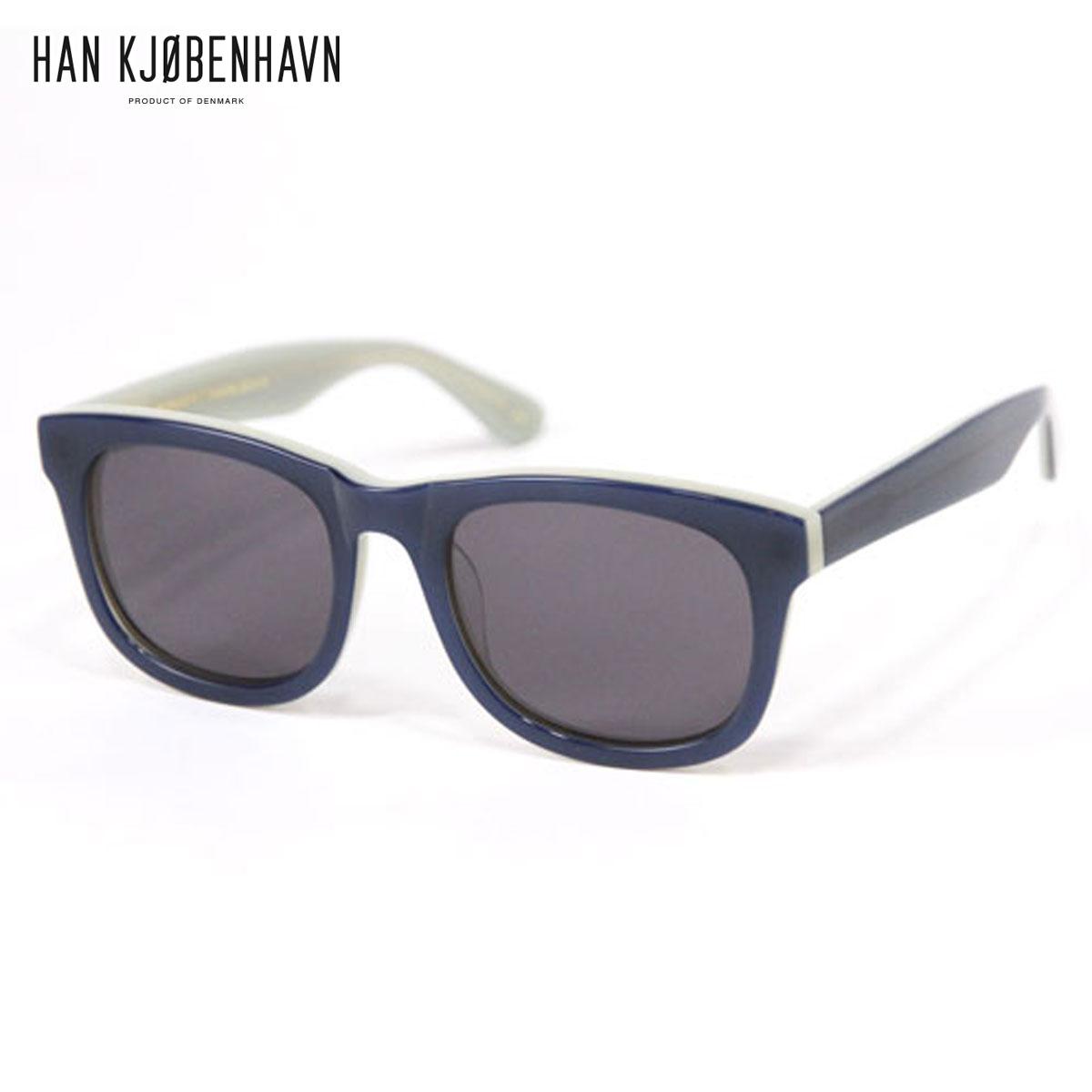 【販売期間 11/3 20:00~11/12 09:59】 ハン HAN KJOBENHAVN 正規販売店 サングラス WOLFGANG Amber Tortoise - BLUE/WHITE D15S25