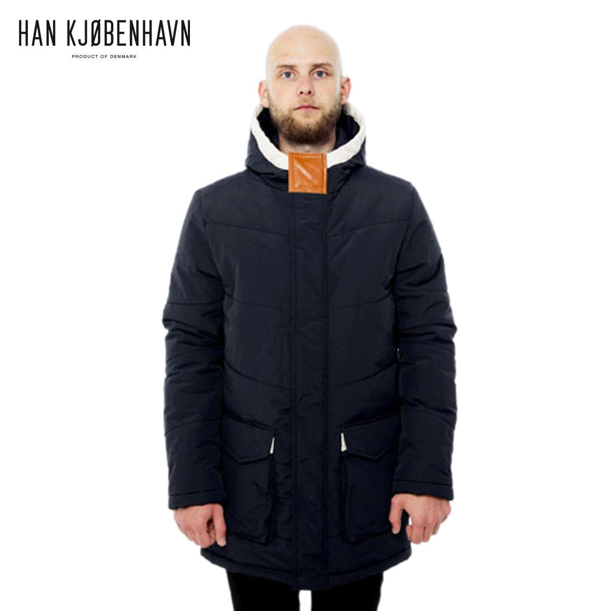 ハン HAN KJOBENHAVN 正規販売店 メンズ ジャケット CAPTAL PARKA Indigo D15S25