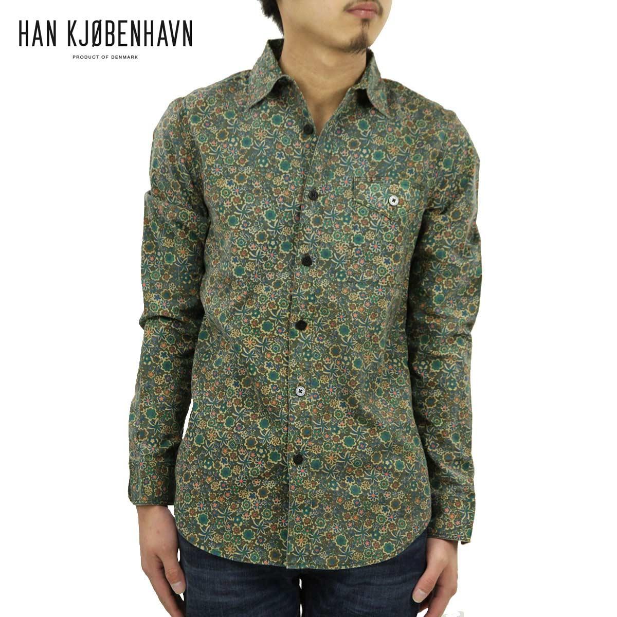 ハン HAN KJOBENHAVN 正規販売店 メンズ シャツ RUGGED SHIRT D15S25