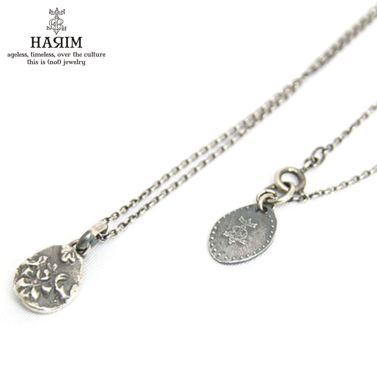 ハリム HARIM 正規販売店 ネックレス HARIM ANCIENT FLOWER PENDANT NECKLACE HRP012SV