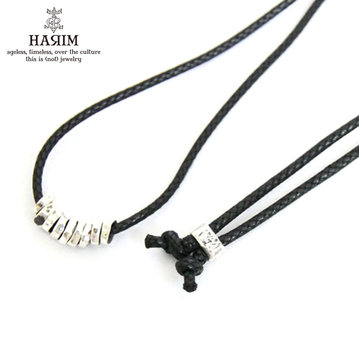 ハリム HARIM 正規販売店 ネックレス HARIM ROCK BEADS NECK SV NECKLACE HRP103SV