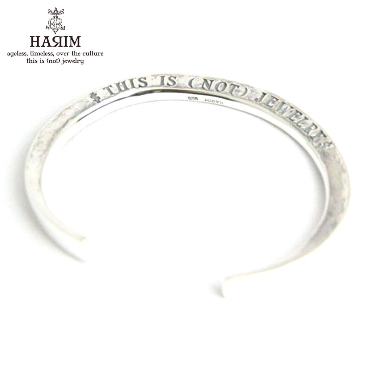 ハリム HARIM 正規販売店 バングル HARIM concept bangle Silver BANGLE HRA021SV