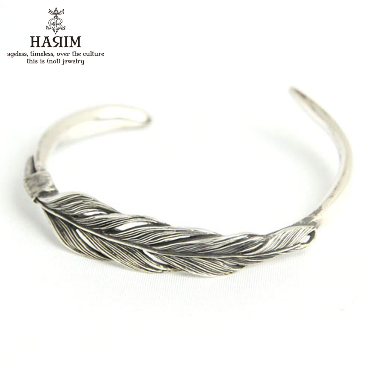 ハリム HARIM 正規販売店 バングル Owl feather bangle twilight] BANGLE HRA023SV