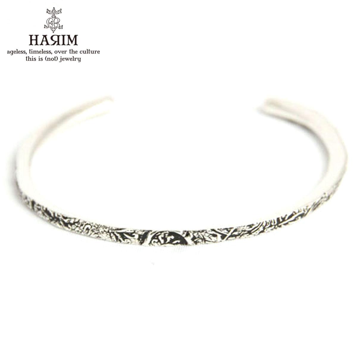 ハリム HARIM 正規販売店 バングル HARIM ARABESQUE BANGLE SV BANGLE HRA040SV