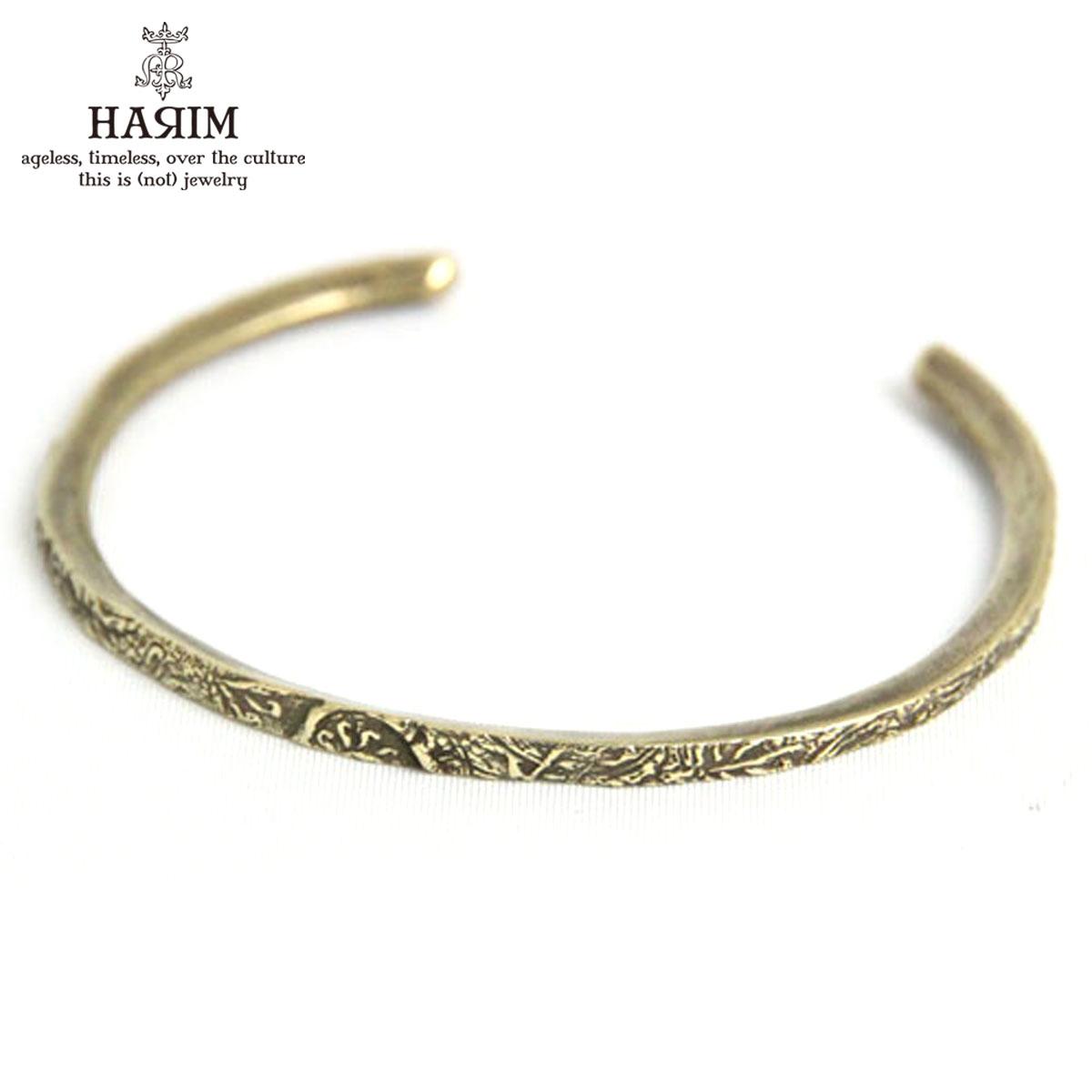 ハリム HARIM 正規販売店 バングル HARIM ARABESQUE BANGLE BR BANGLE HRA040BR