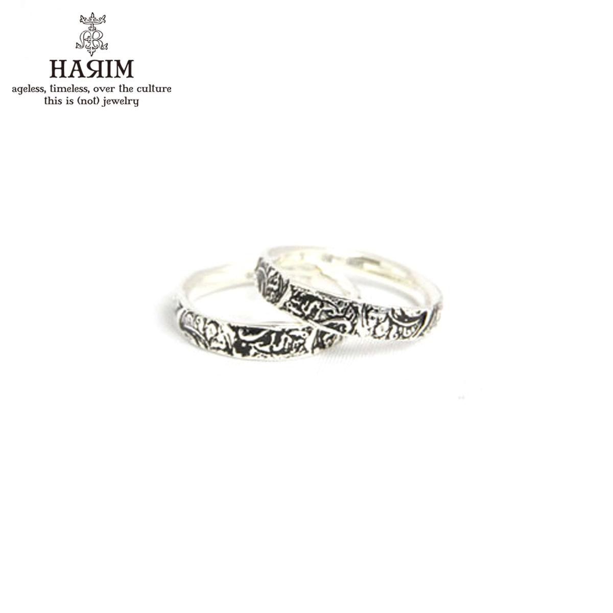 ハリム HARIM 正規販売店 指輪 リング arabesqu double ring silver