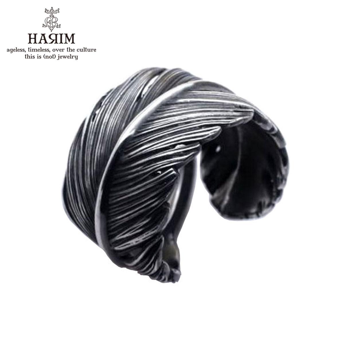 ハリム HARIM 指輪 リング HARIM FEATHER RING L HRR036SV SILVER 925 OXIDIZED BLACK