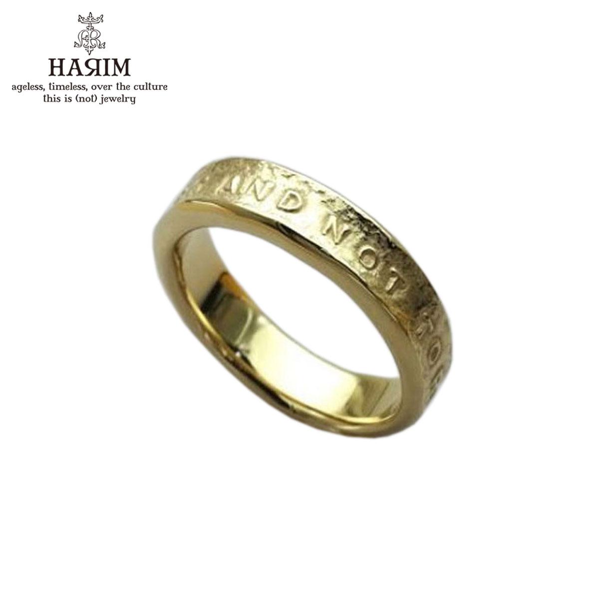 ハリム HARIM 指輪 リング STAIRWAY TO HEAVEN NARROW RING HRR038GP SILVER 925 K18YG GOLD PLATING