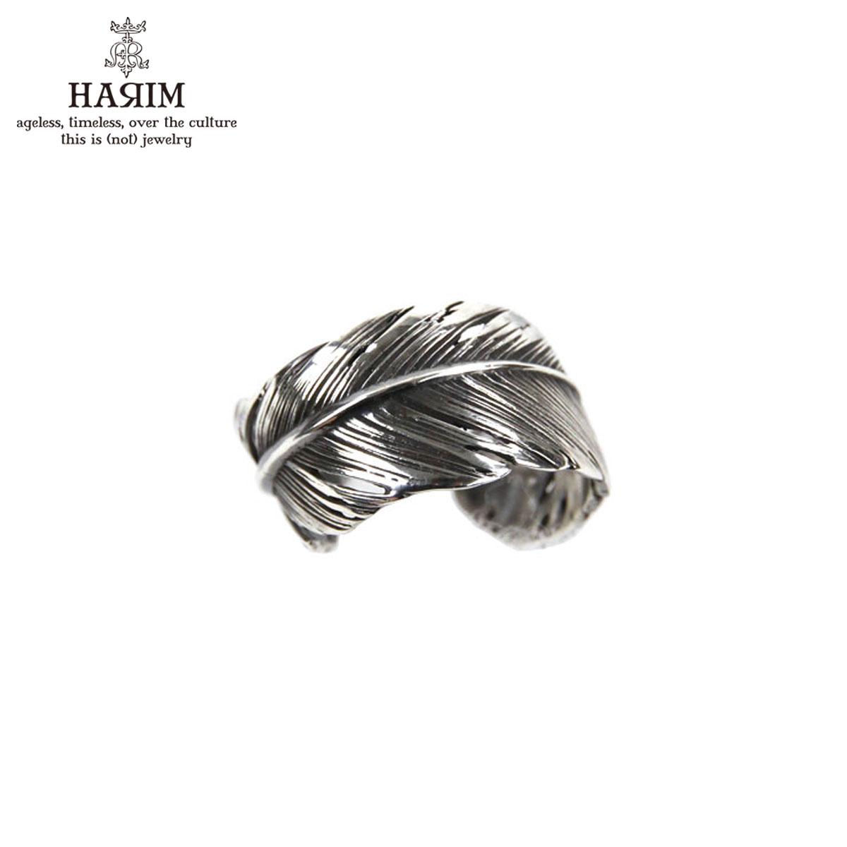 ハリム HARIM 指輪 リング HARIM FEATHER RING 2 SVBK HRR040 OX SILVER 925 OXIDIZED BLACK
