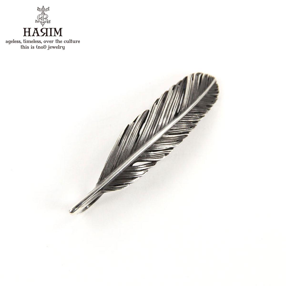 ハリム HARIM ネックレス HARIM FEATHER LEFT S OX HRT008 OX SILVER 925 OXIDIZED BLACK