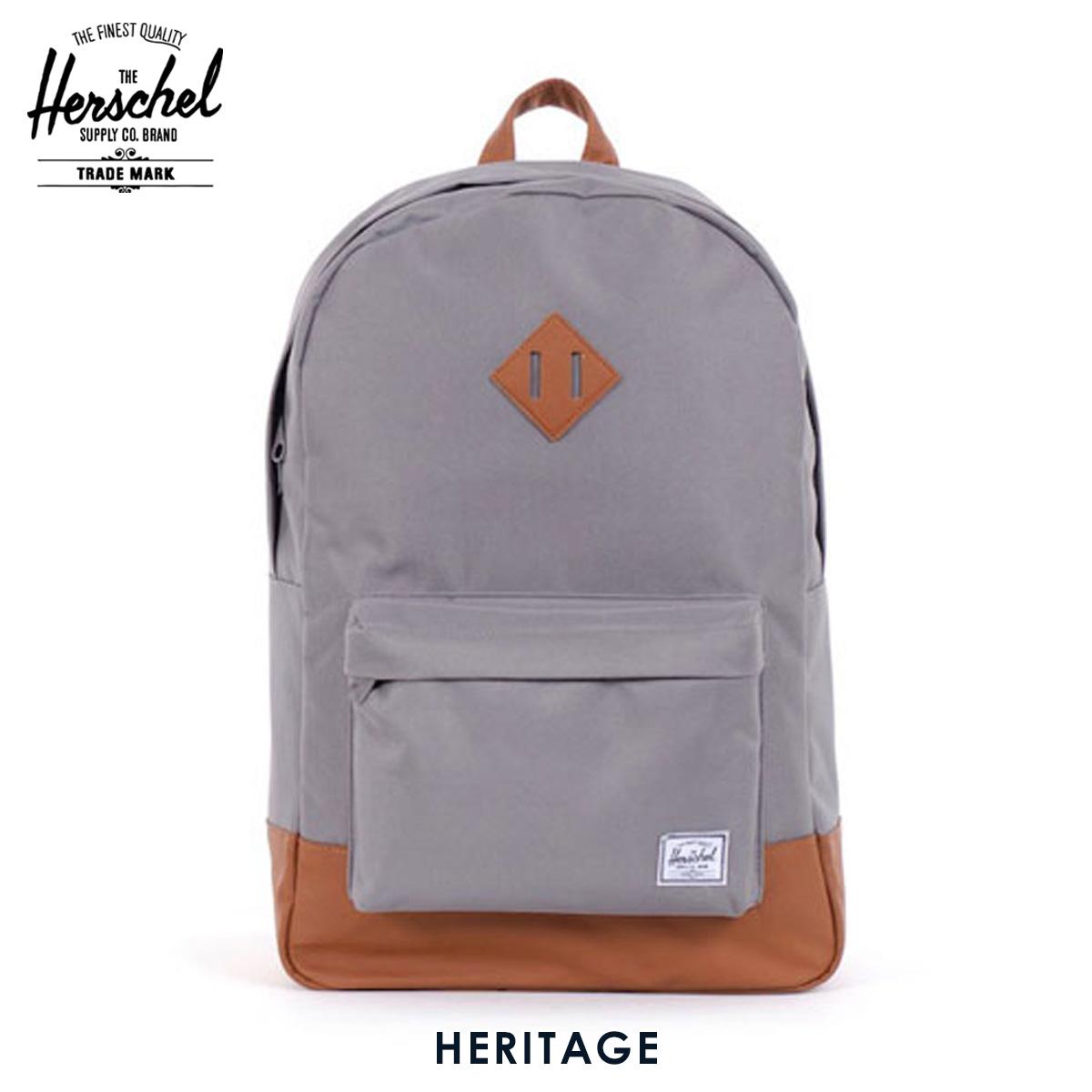【販売期間 6/4 10:00~6/11 09:59】 ハーシェル バックパック 正規販売店 Herschel Supply ハーシェルサラプライ リュックサック バッグ 10007-00006-OS Heritage Grey バックパック D1 父の日