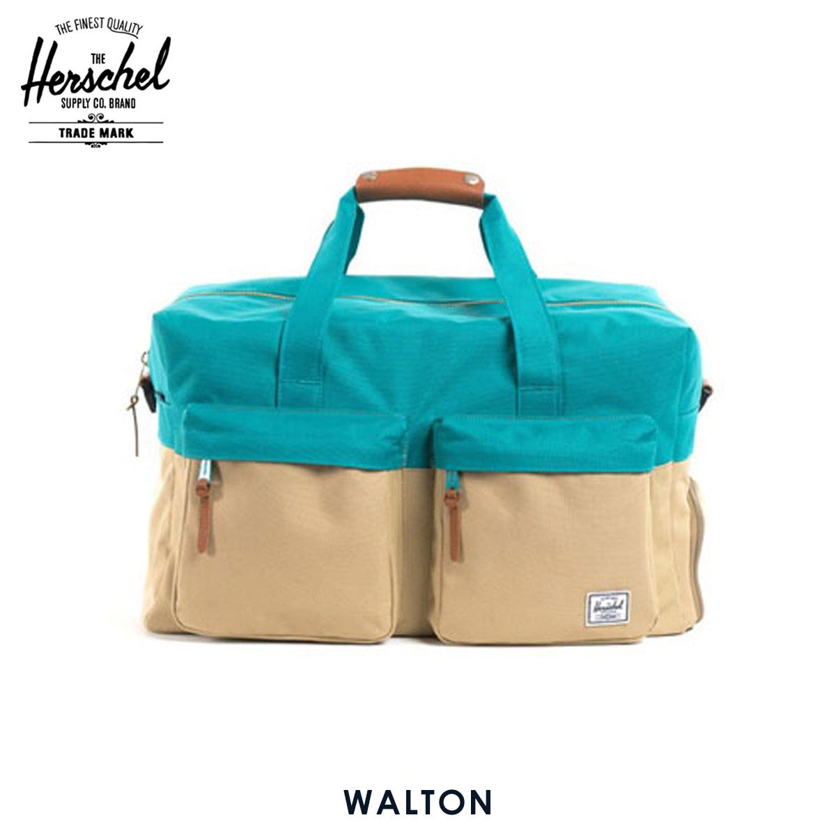ハーシェル サプライ Herschel Supply 正規販売店 10027-00016-OS Walton Khaki/Teal ハンドバッグ D15S25
