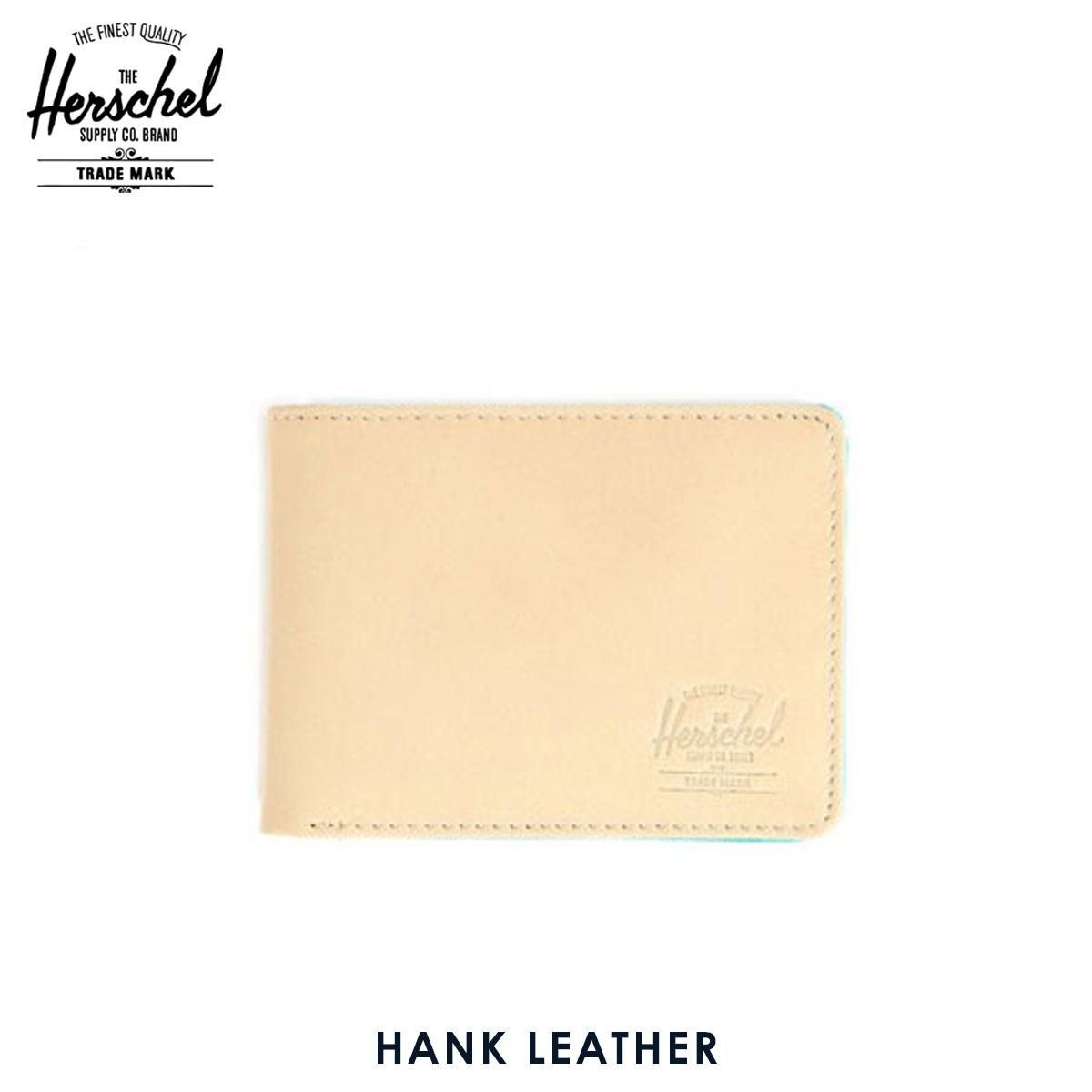 【販売期間 6/4 10:00~6/11 09:59】 ハーシェル サプライ Herschel Supply 正規販売店 10049-00038-OS Hank Leather Natural Nu 父の日