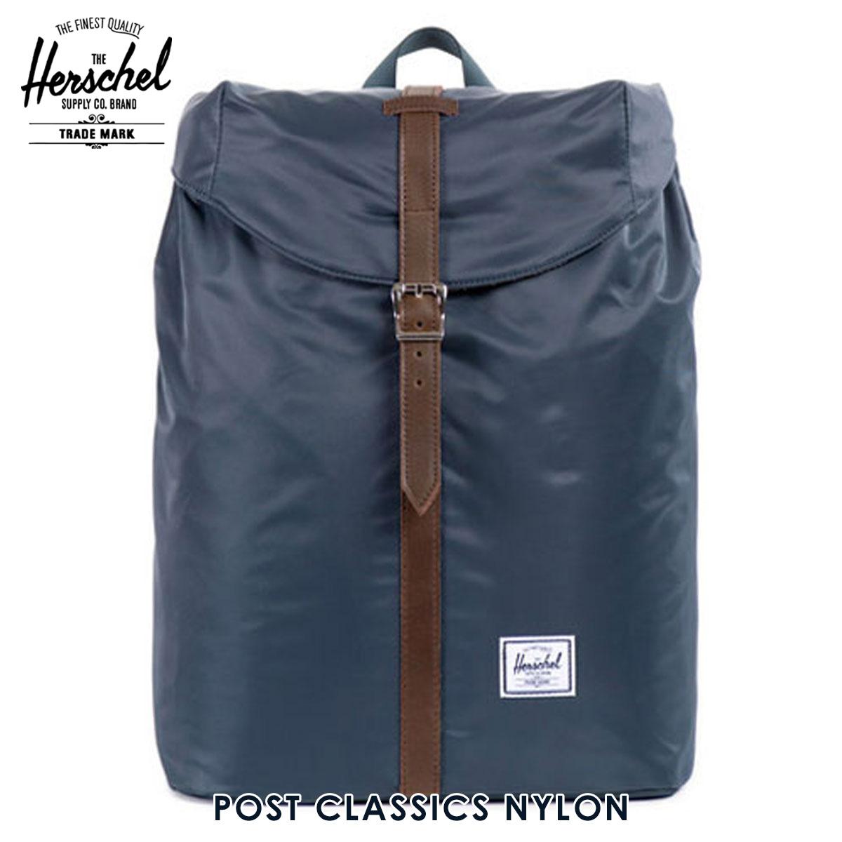 【販売期間 6/4 10:00~6/11 09:59】 ハーシェル バッグ 正規販売店 Herschel Supply ハーシャルサプライ バッグ Post Classics - Nylon 10021-00588- 父の日