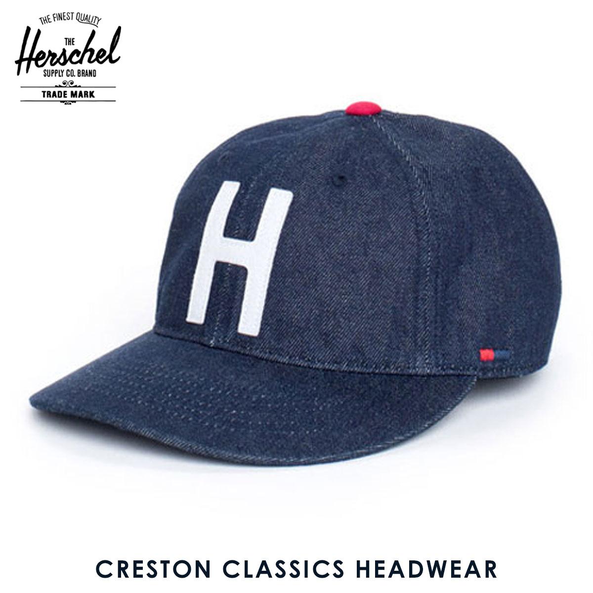 2ca803fefe3 Rakuten Ichiba shop MIXON  25%OFF sale Hershel supply Herschel Supply  regular store cap Creston M L Classics Headwear 1023-0031-ML Selvedge Denim  D15S25 ...