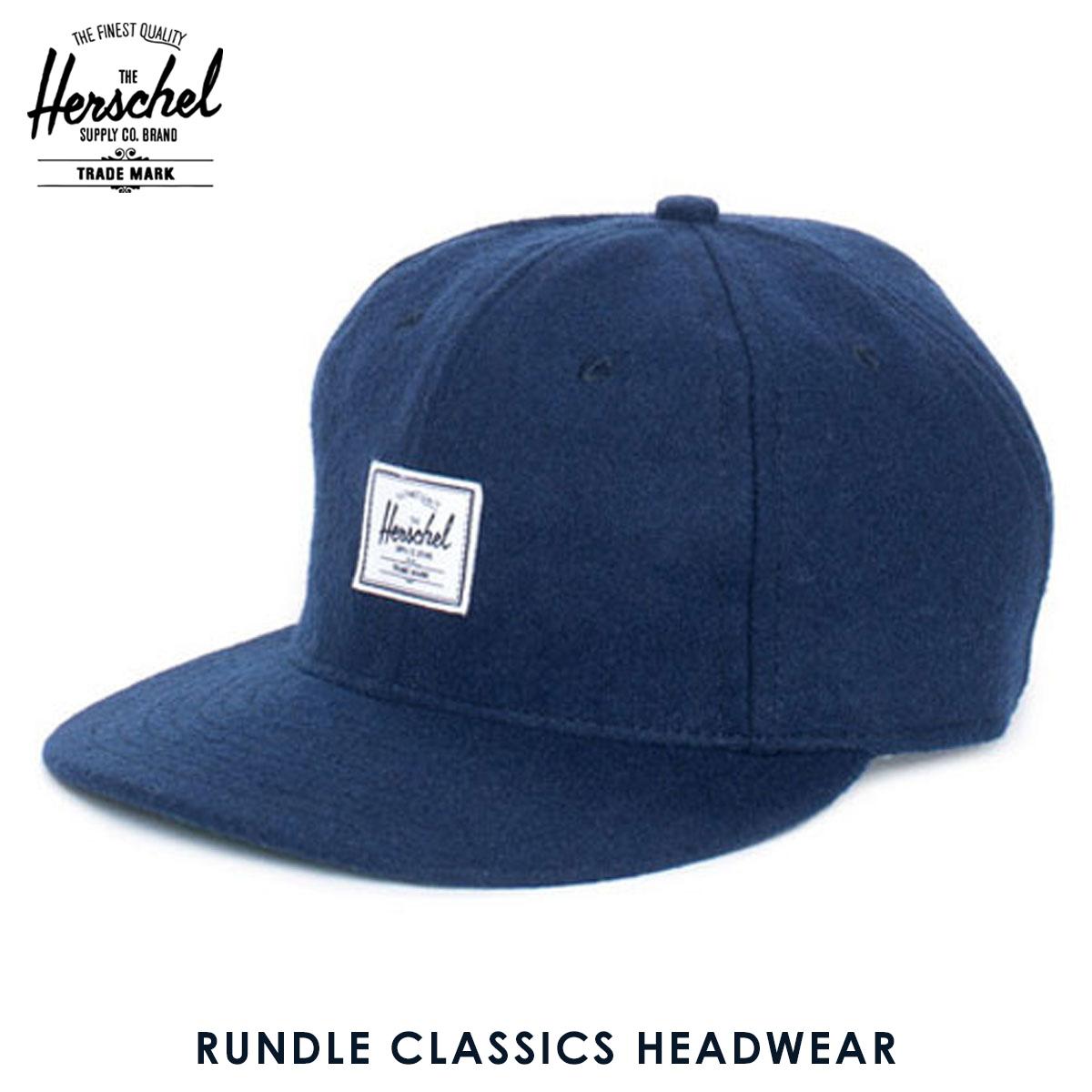 e0abced2554aa Rakuten Ichiba shop MIXON  Hershel supply Herschel Supply regular store cap  Rundle Classics Headwear 1009-0038-OS Navy D15S25