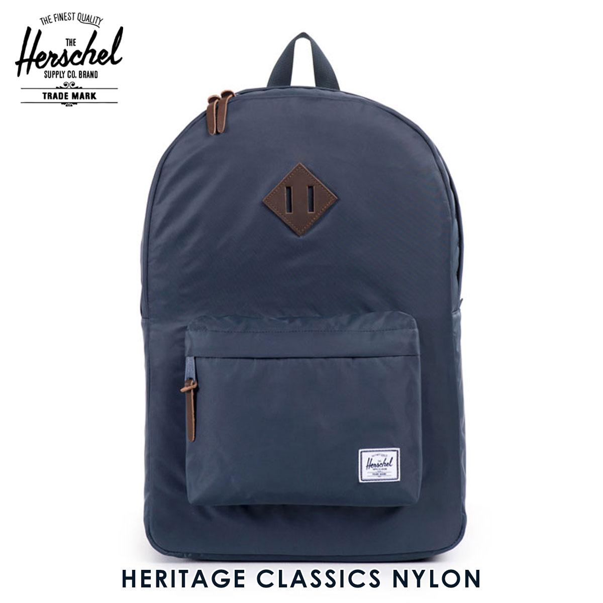 【販売期間 6/4 10:00~6/11 09:59】 ハーシェル バッグ 正規販売店 Herschel Supply ハーシャルサプライ バッグ リュックサック Heritage Classics Nylon 10 父の日