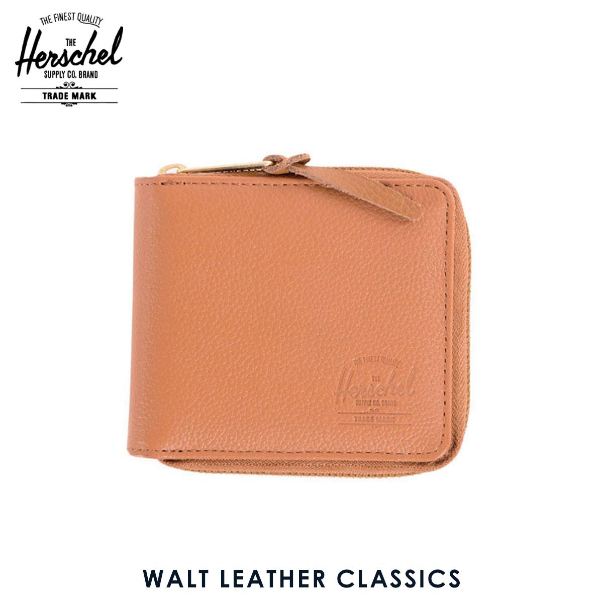 ハーシェル サプライ Herschel Supply 正規販売店 財布 WALT LEATHER CLASSICS WALLET 10153-00034-OS TAN PEBBLED LEATHER D00S20