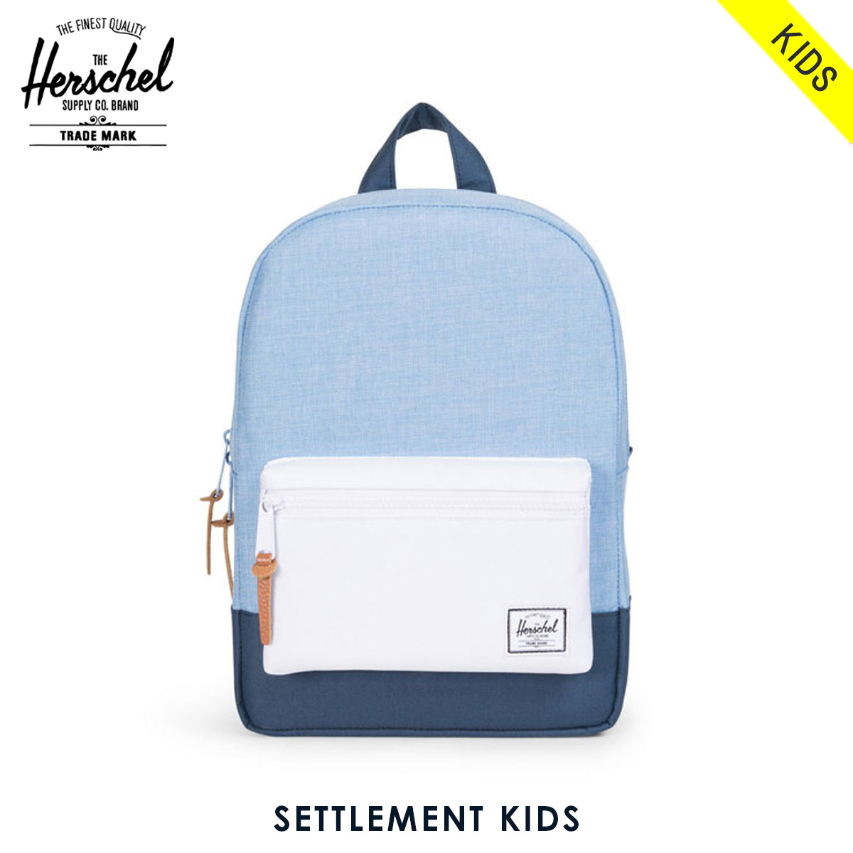 a045dcf99f2 Herschel Herschel Supply regular sale stores children s bags backpack  SETTLEMENT KIDS KIDS 10074-01080-OS CHAMBRAY NAVY WHITE NAVY 10P28Sep16