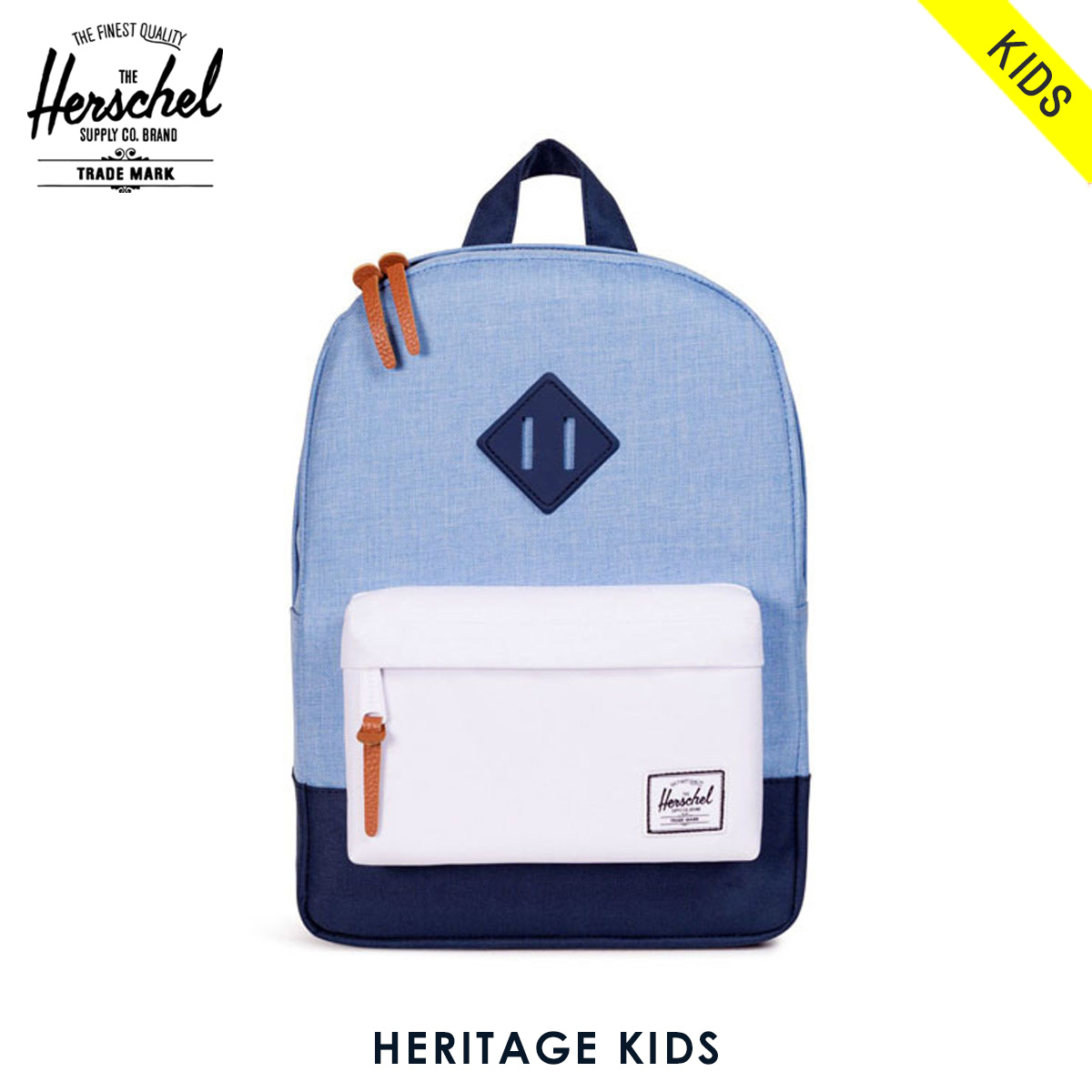 930fc8832f4 Rakuten Ichiba shop MIXON  Herschel Herschel Supply regular sale stores  children s bags backpack KIDS KIDS HERITAGE 10073-01080-OS  CHAMBRAK NAVK white NAVK ...