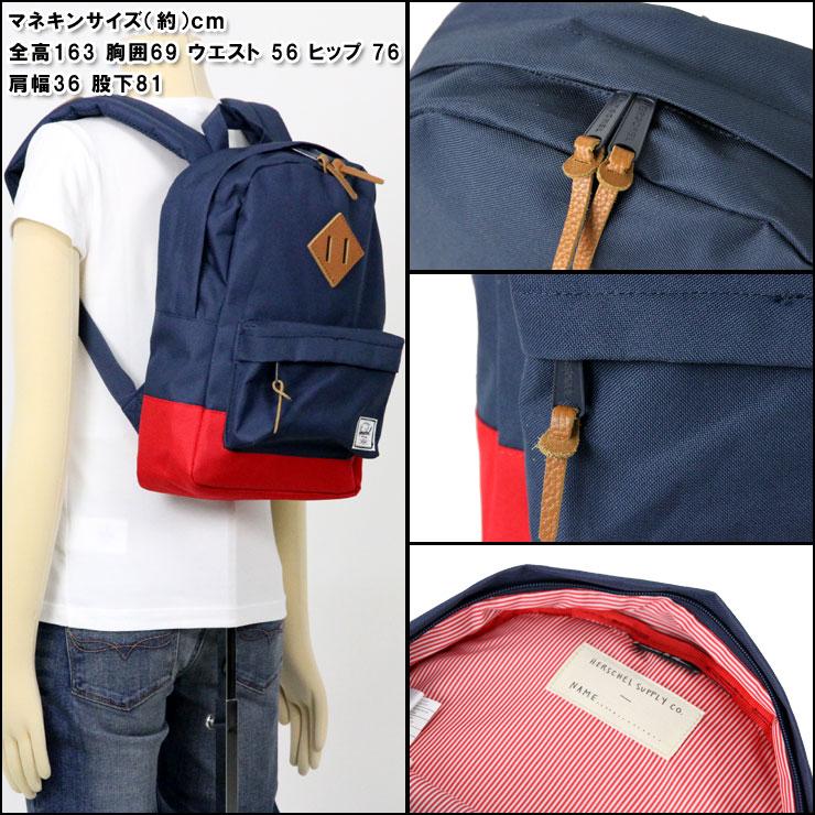... Herschel Heritage Mid Volume Classic Backpack Hitam Tan Synthetic Source Herschel Supply Co Heritage Backpack