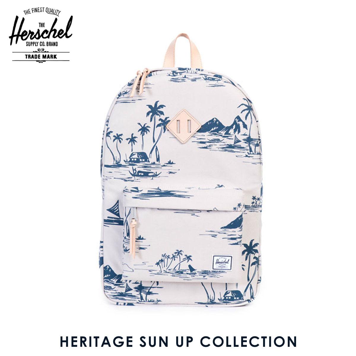 【販売期間 6/4 10:00~6/11 09:59】 ハーシェル バッグ 正規販売店 Herschel Supply ハーシャルサプライ バッグ リュックサック Heritage SUN UP COLLECTION 父の日