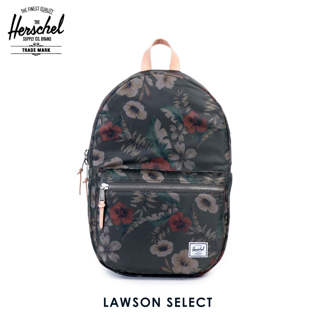 ハーシェル サプライ Herschel Supply 正規販売店 バッグ リュックサック Lawson Select 10179-00953-OS Hawaiian Camo/Veggie Tan Leather D15S25