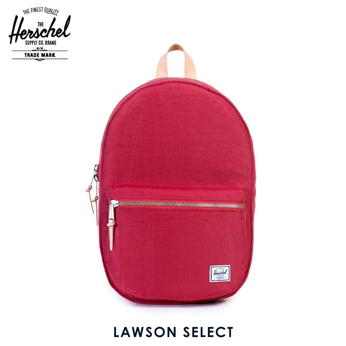 ハーシェル サプライ Herschel Supply 正規販売店 バッグ リュックサック Lawson Select 10179-00951-OS Windsor Wine/Veggie Tan Leather D15S25