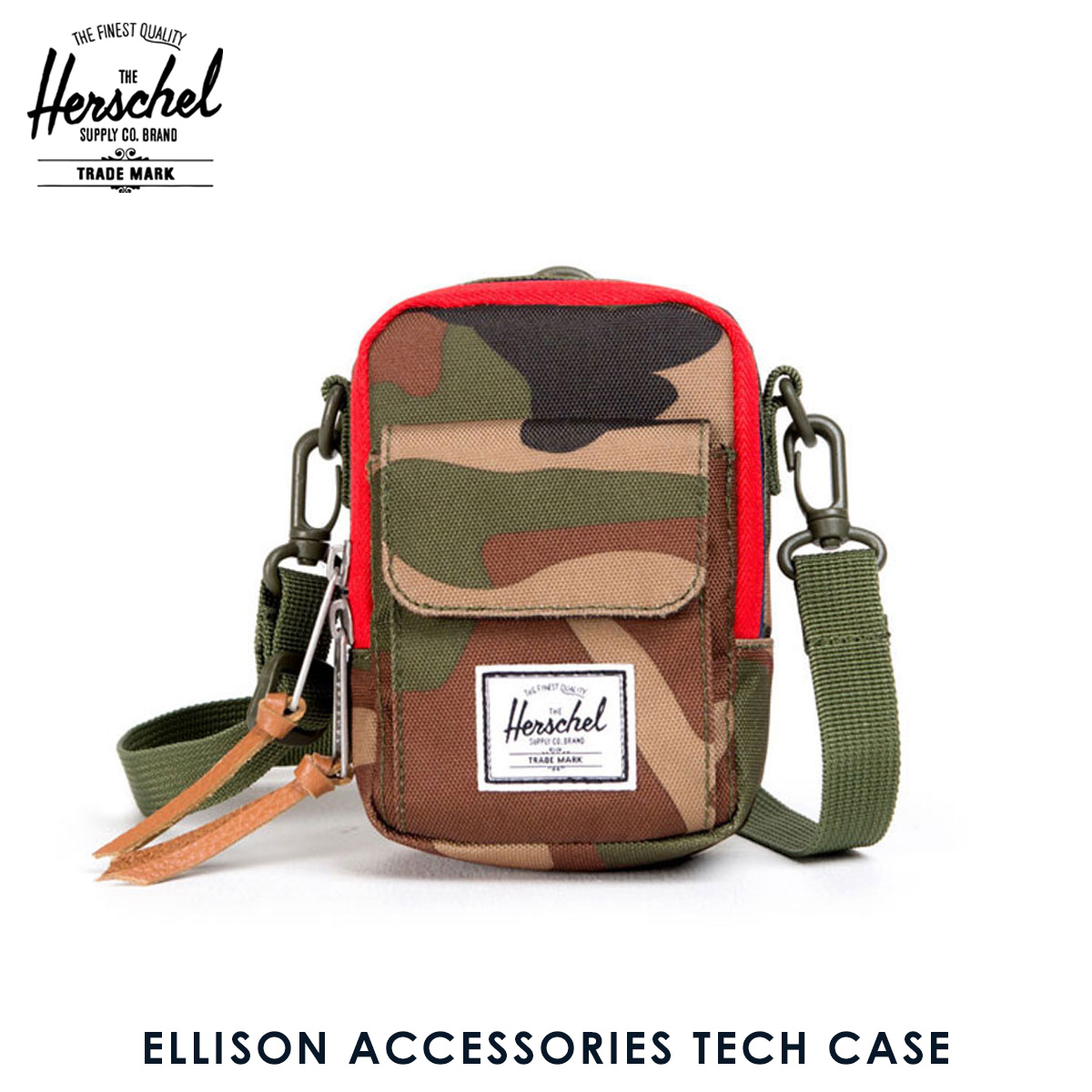 07c8a40c393 Hershel supply Herschel Supply regular store case Ellison Accessories Tech  Case 10243-00032-OS Woodland Camo D15S25