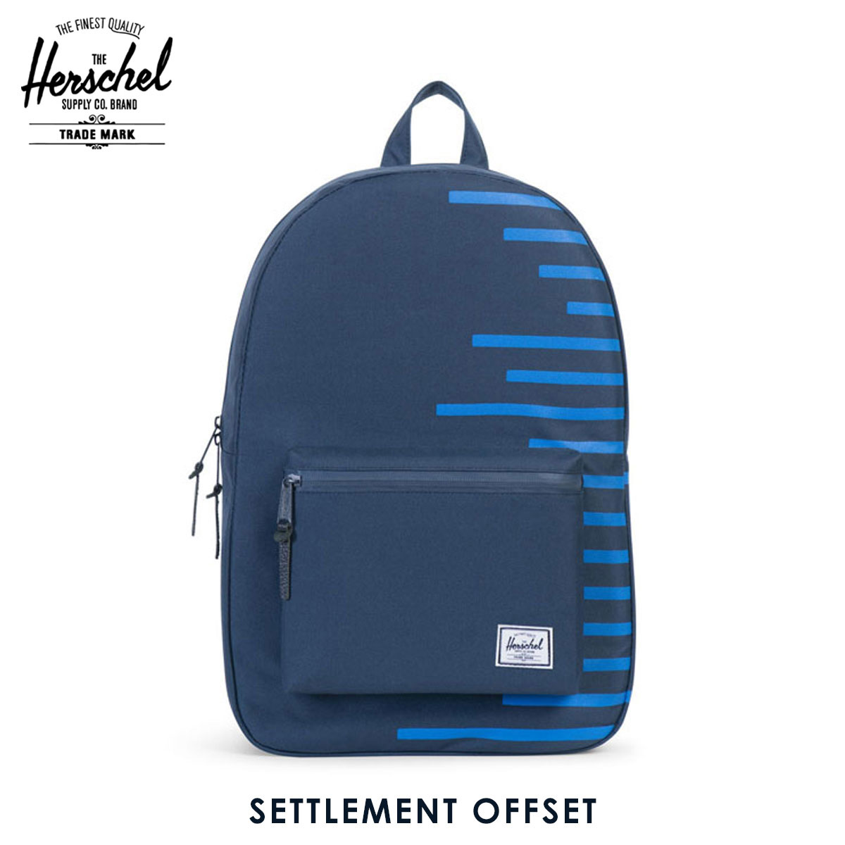 f1827f0354f Herschel Herschel Supply regular sale shop bag rucksack SETTLEMENT OFFSET  10005-01042-OS NAVY COBALT STRIPES