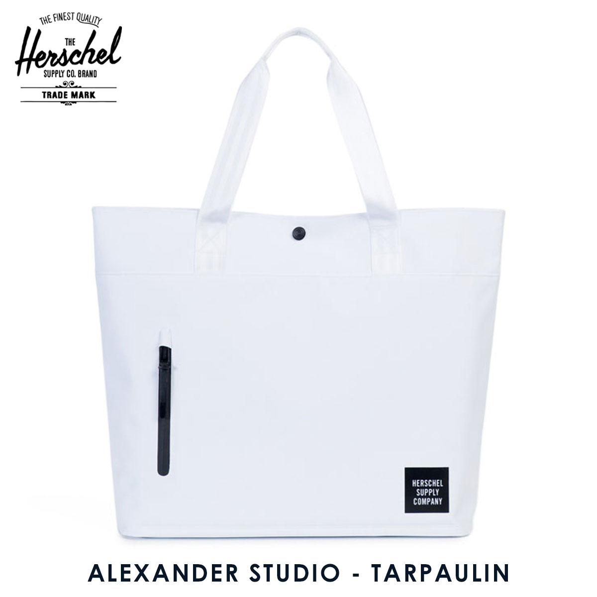 8a91042542 Herschel supply Herschel Supply regular sale shop bag ALEXANDER STUDIO -  TARPAULIN 10125-01004-OS WHITE