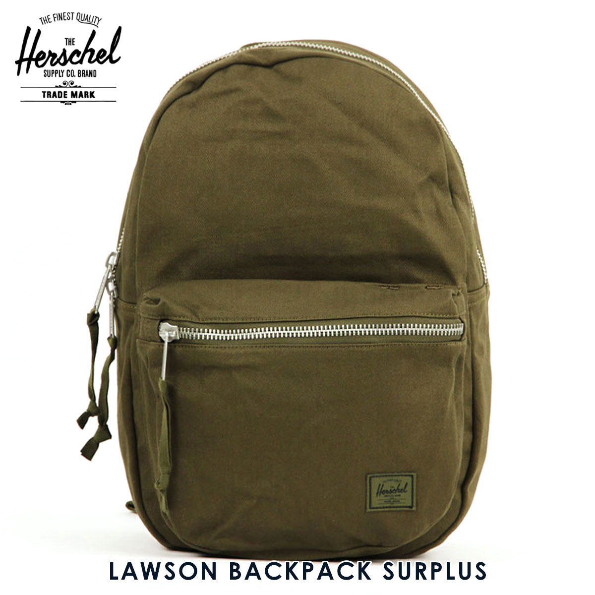 30%OFFセール 【販売期間 6/4 20:00~6/11 01:59】 ハーシェル バッグ 正規販売店 Herschel Supply ハーシャルサプライ バッグ リュックサック LAWSON BACKPACK SURPLUS 10179-01131-OS ARMY D00S20 父の日